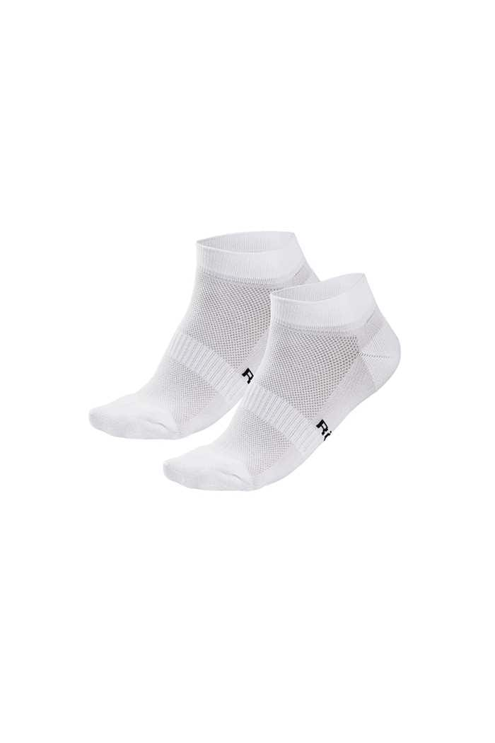 Picture of Rohnisch Ladies 2 Pack Short Socks - White