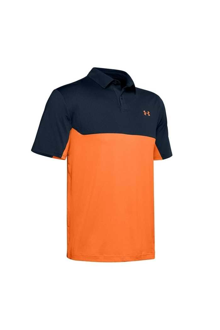 Picture of Under Armour Men's UA Performance 2.0 Colourblock Polo Shirt - Navy 408