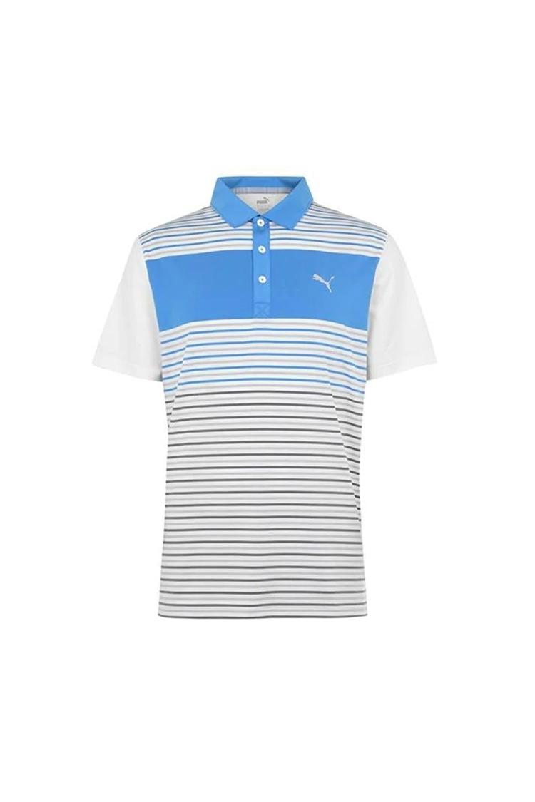 Picture of Puma Golf Men's Floodlight Polo Shirt - Ibiza Blue