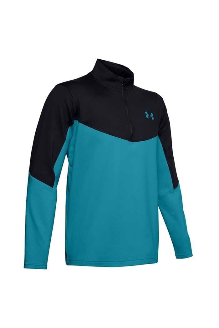 Picture of Under Armour UA Men's Storm Midlayer 1/2 Zip Sweater - Black 003