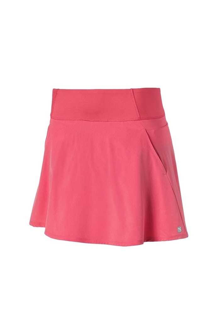 Picture of Puma Golf Women's PWRSHAPE Solid Woven Skirt - Rapture Rose