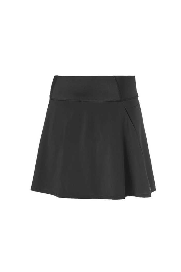 Picture of Puma Golf Women's PWRShape Solid Woven Skirt - Puma Black
