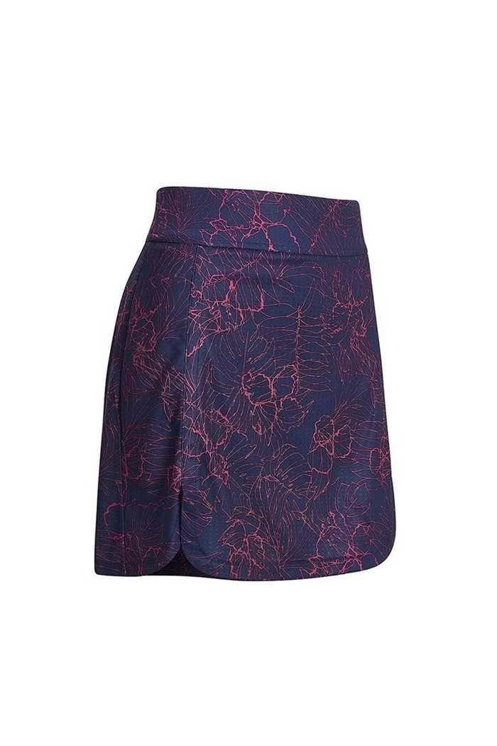Picture of Callaway Ladies Tropical Floral Skort / Skirt - Peacoat