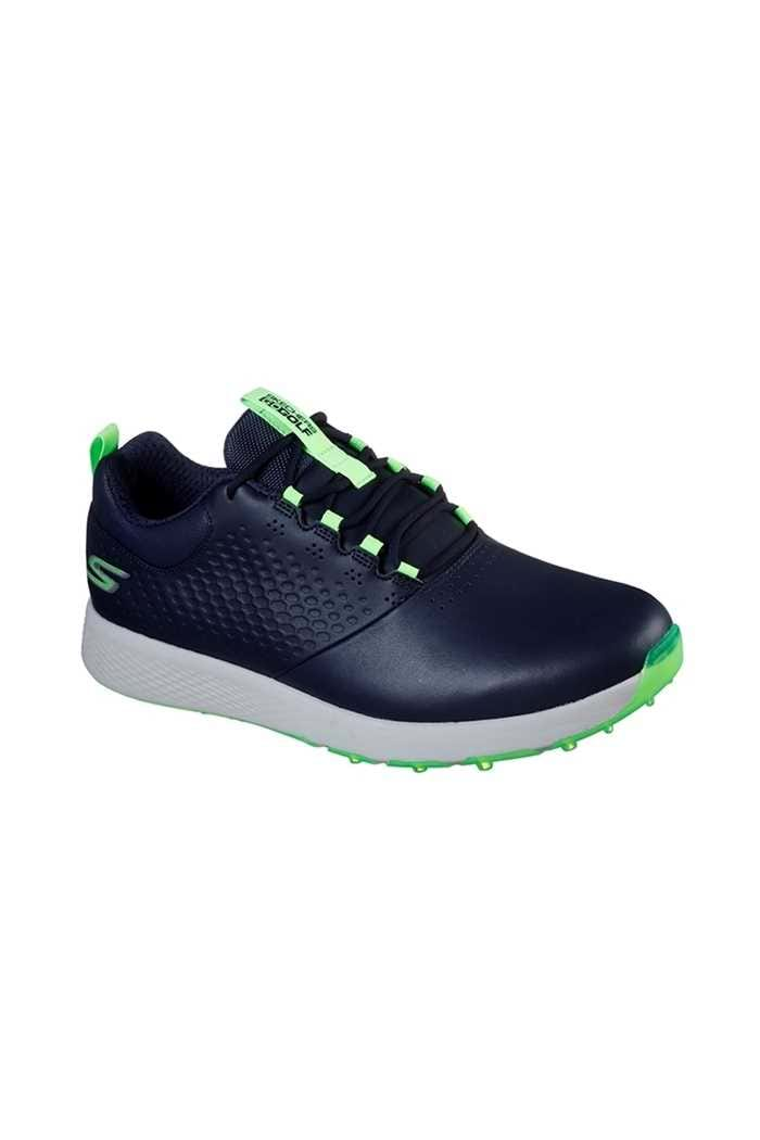 Picture of Skechers Men's Elite 4 Golf Shoes - Navy / Lime