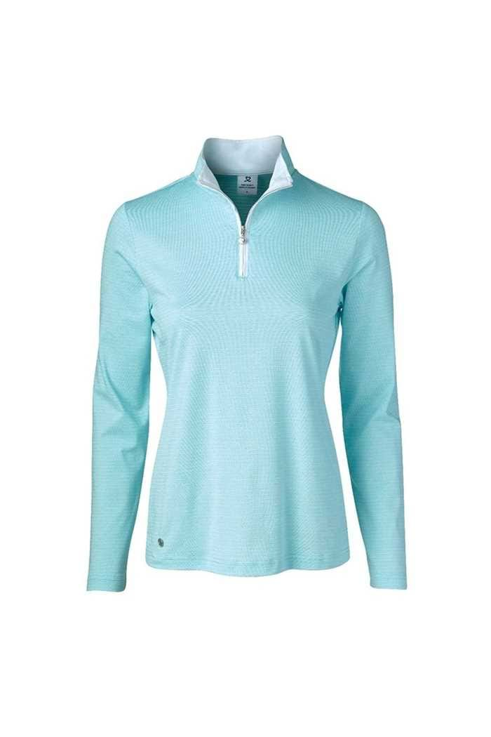 Picture of Daily Sports ZNS Ladies Beata Long Sleeve Polo Shirt - Azul 653