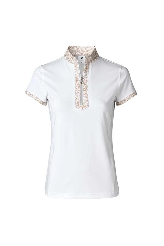 Picture of Daily Sports Ladies Nova Short Sleeve Polo Shirt - White 100