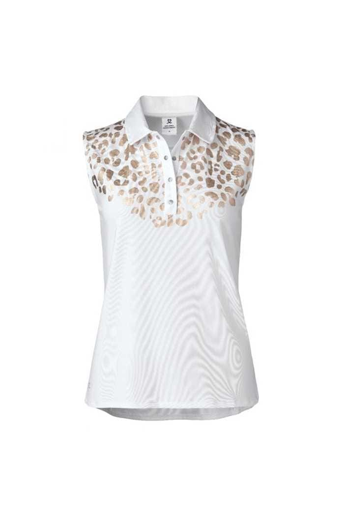 Picture of Daily Sports Ladies Larissa Sleeveless Polo Shirt - Gold 340