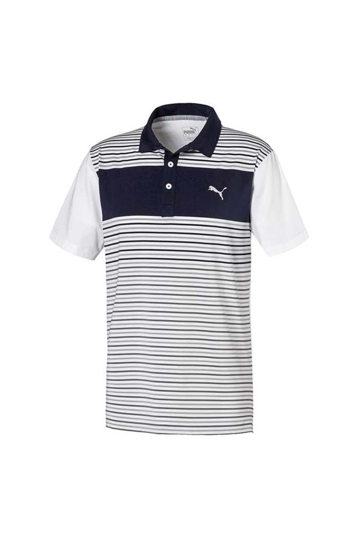 Picture of Puma Golf Men's Floodlight Polo Shirt - Peacoat