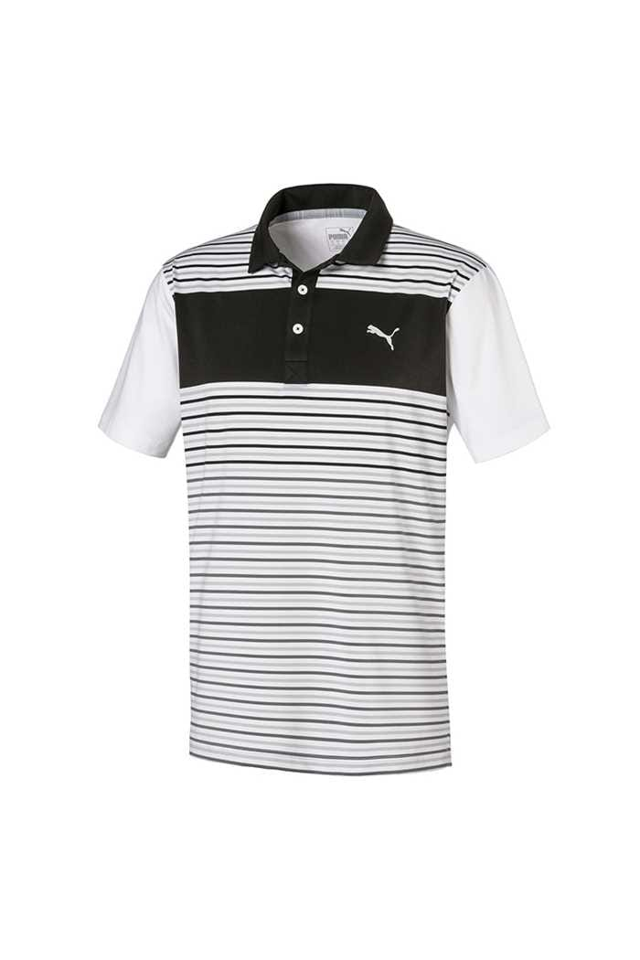 Picture of Puma Golf Men's Floodlight Polo Shirt - Puma Black
