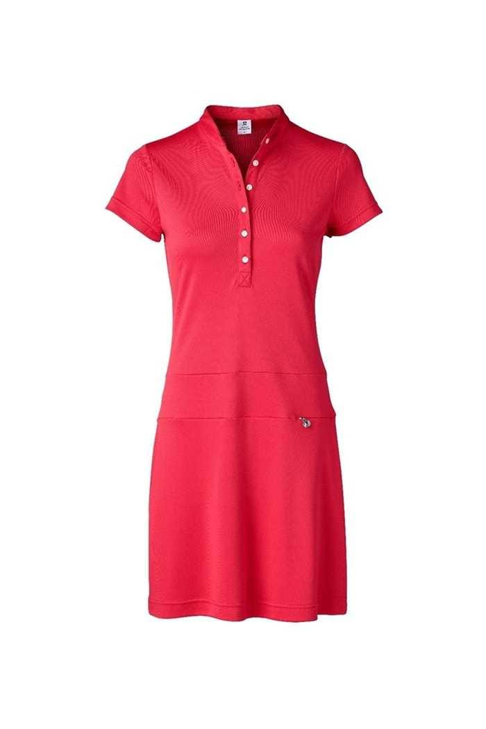 Picture of Daily Sports Ladies Selena Cap Sleeve Dress - Sangria