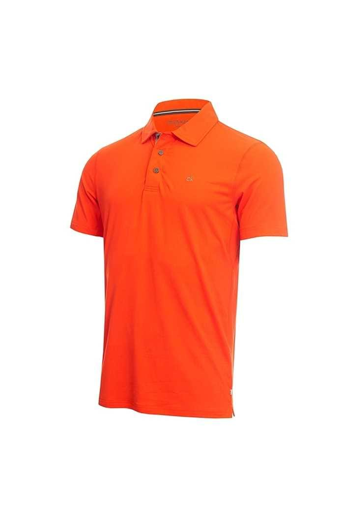 Picture of Calvin Klein Men's Newport Polo Shirt - Fiery Red