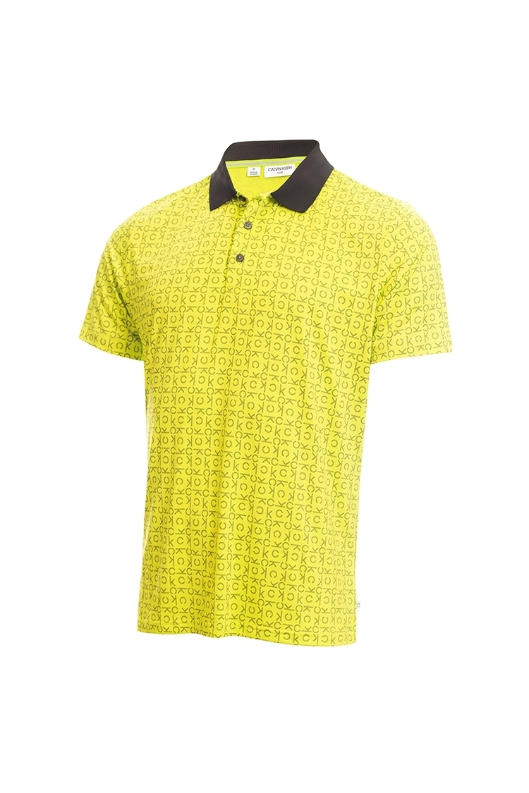 Picture of Calvin Klein Men's Geo CK Polo Shirt - Lime