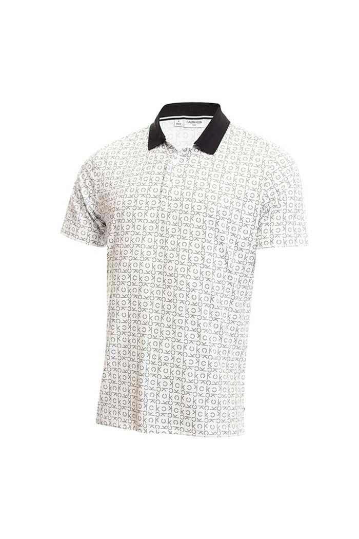 Picture of Calvin Klein Men's Geo CK Polo Shirt - White