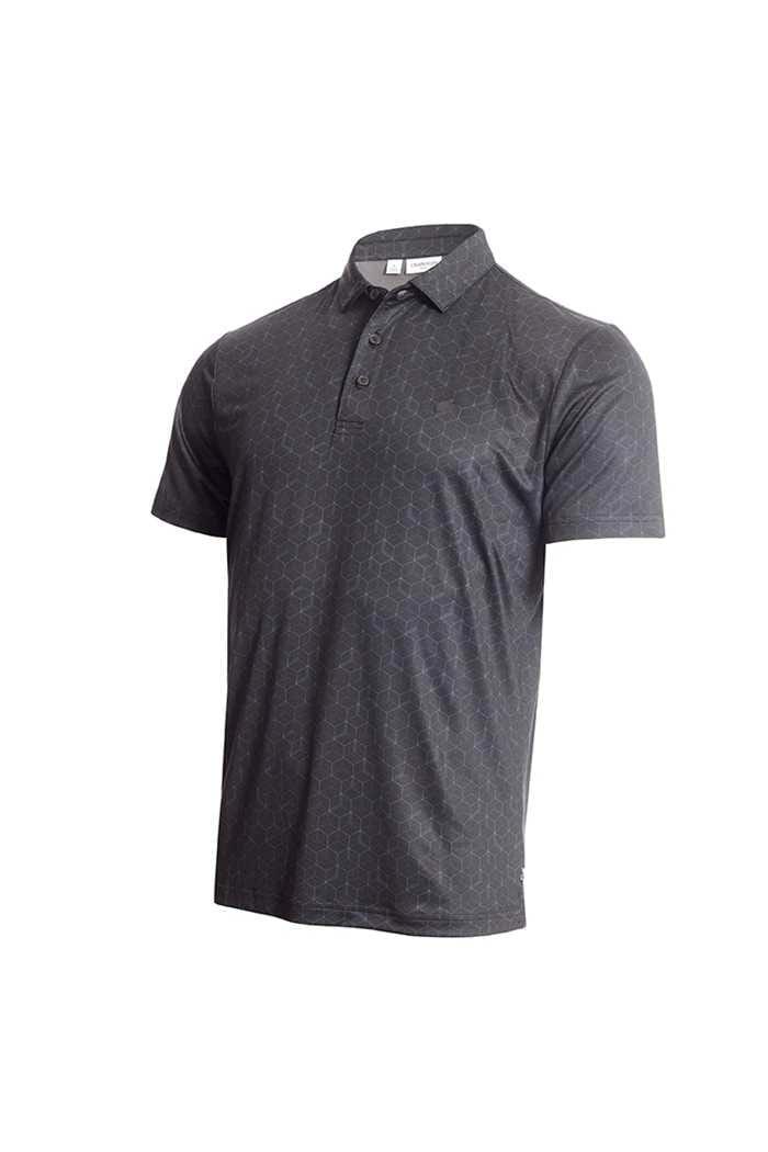 Picture of Calvin Klein Men's Rock Face Polo Shirt - Black
