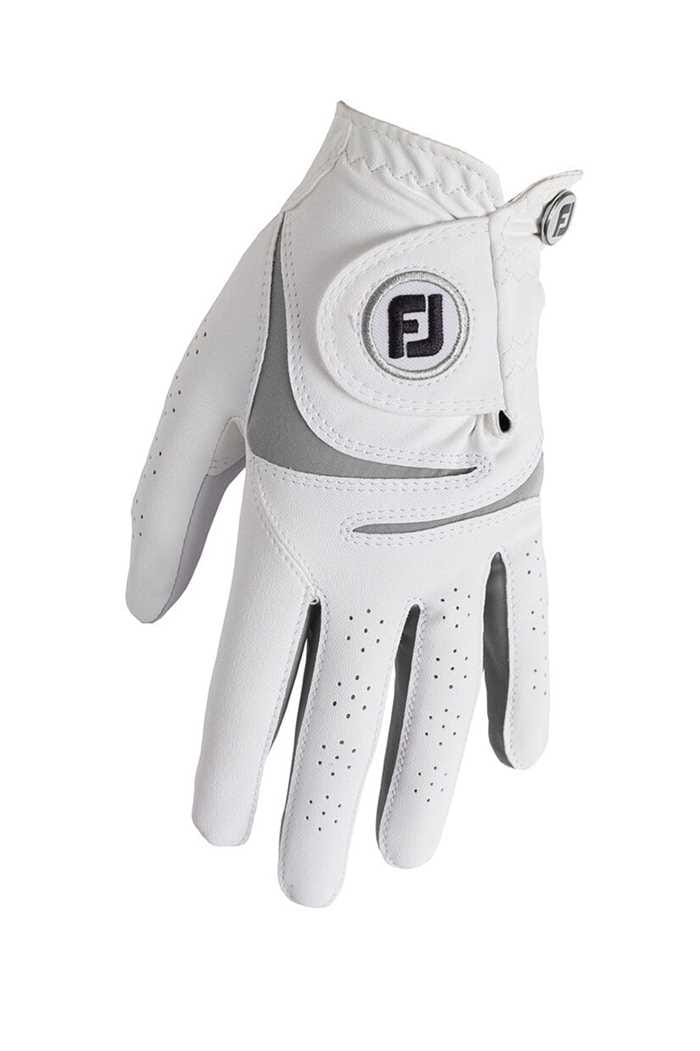 Picture of Footjoy Men's WeatherSof Golf Gloves - White / Grey