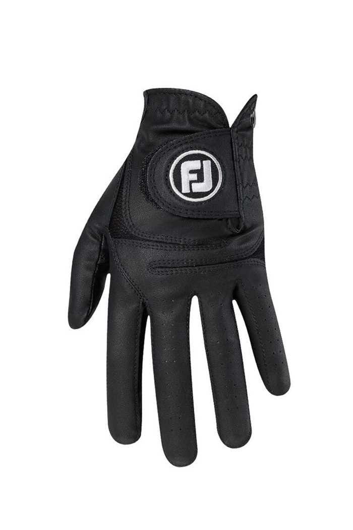 Picture of Footjoy Men's WeatherSof Golf Gloves - Black / Black