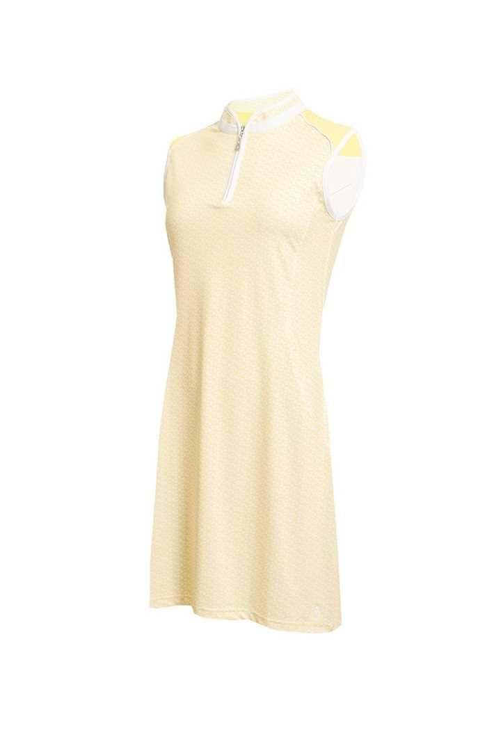 Picture of Green Lamb Ladies Eliza Sleeveless Golf Dress - Honeycom