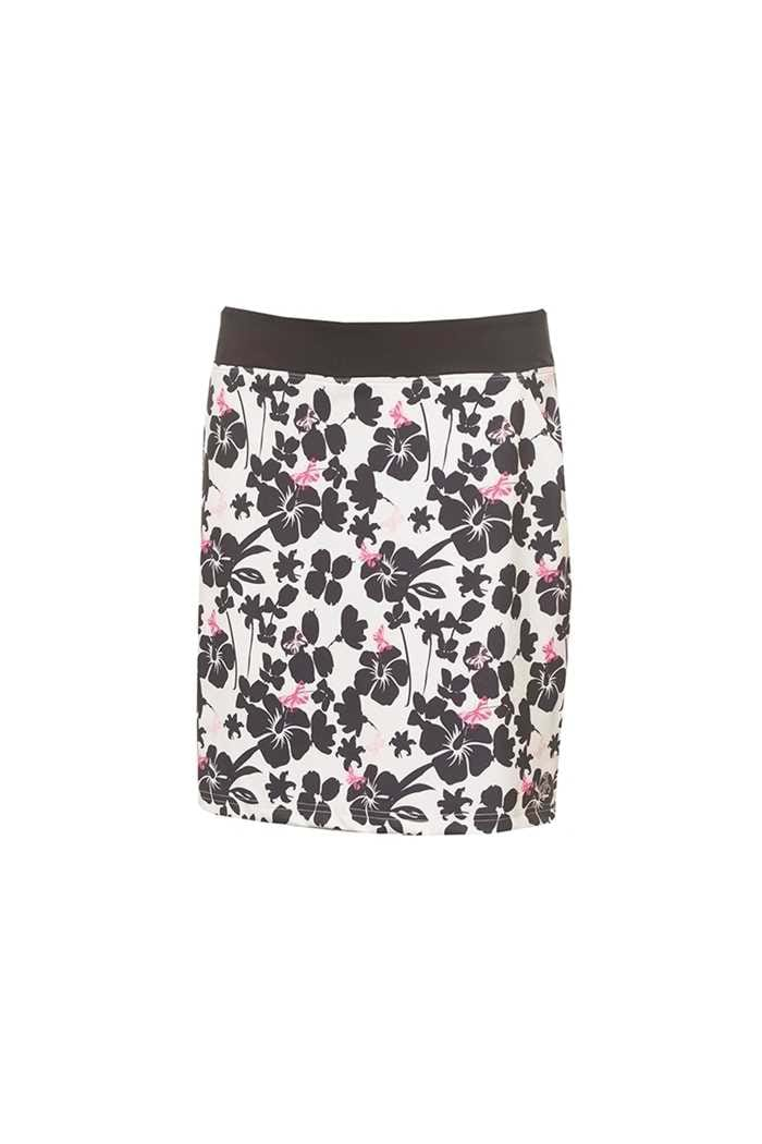 Picture of Green Lamb Ladies Miranda Jersey Printed Skort - Butterfly