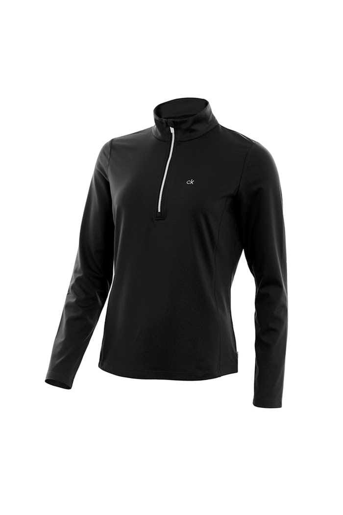 Picture of Calvin Klein Performance Trek Top - Black