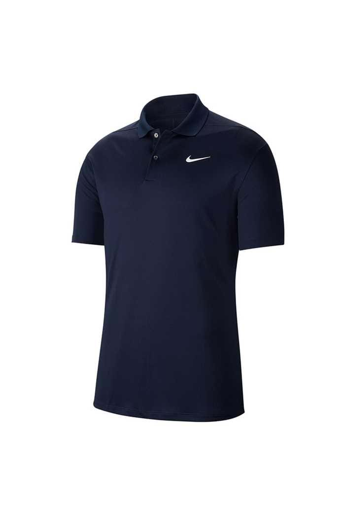 Picture of Nike Golf Dri-FIT Victory Polo Shirt - Obsidian / White