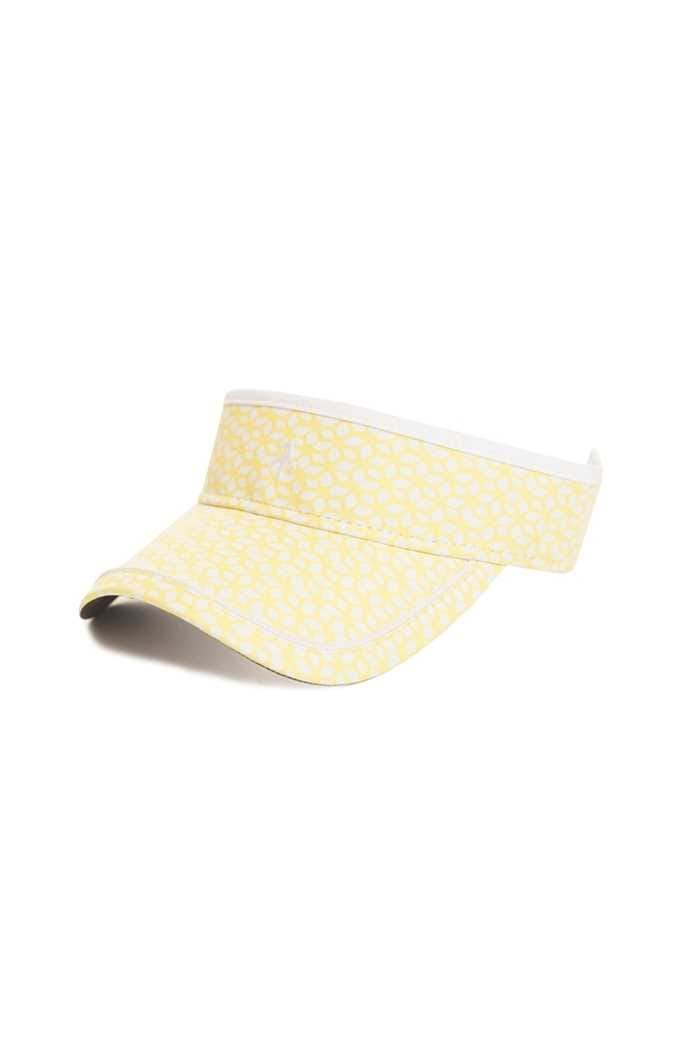 Picture of Green lamb Izzy Printed Visor - Honeycomb