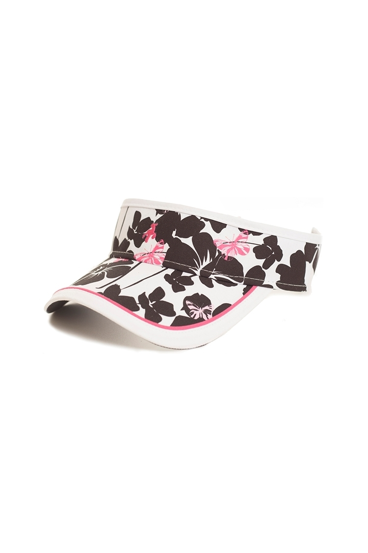 Picture of Green lamb Izzy Printed Visor - Butterfly