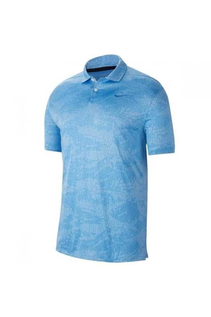Picture of Nike Golf Dri-FIT Vapor Camo Polo Shirt - Blue 402