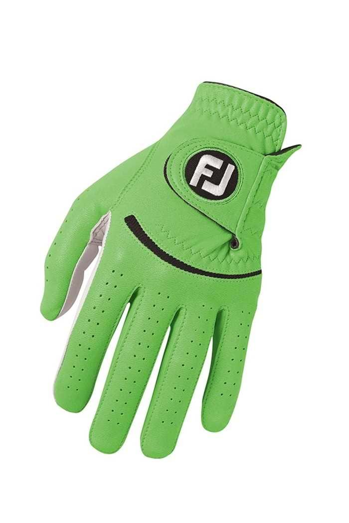 Picture of Footjoy zns Women's Spectrum Leather Glove - Lime