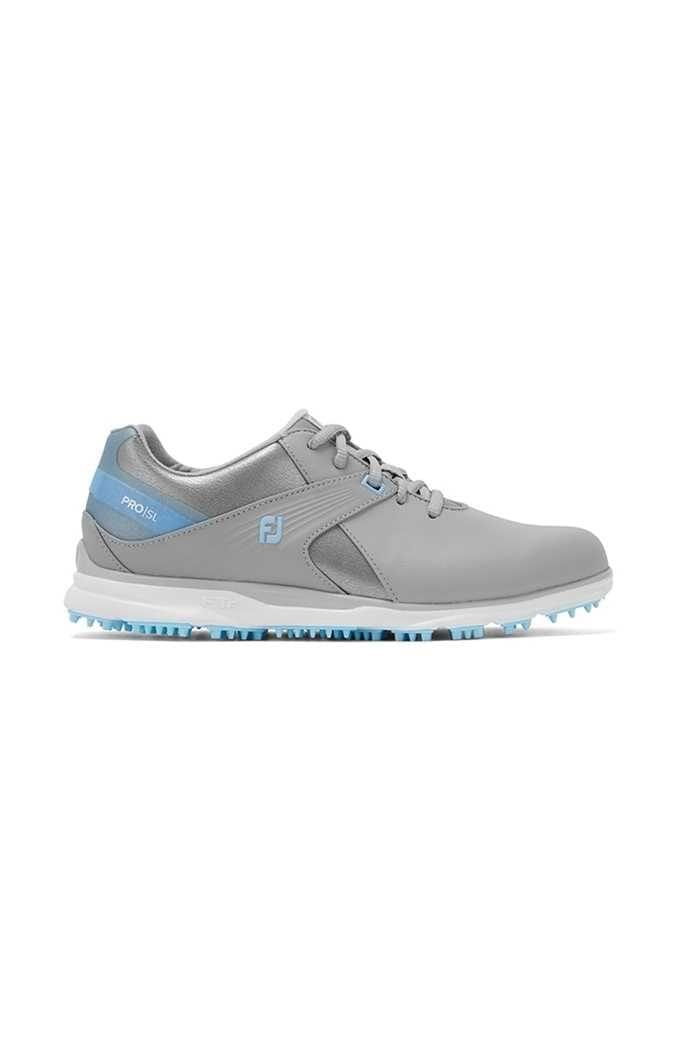 Picture of Footjoy Women's Pro SL Golf Shoes - Grey / Light Blue