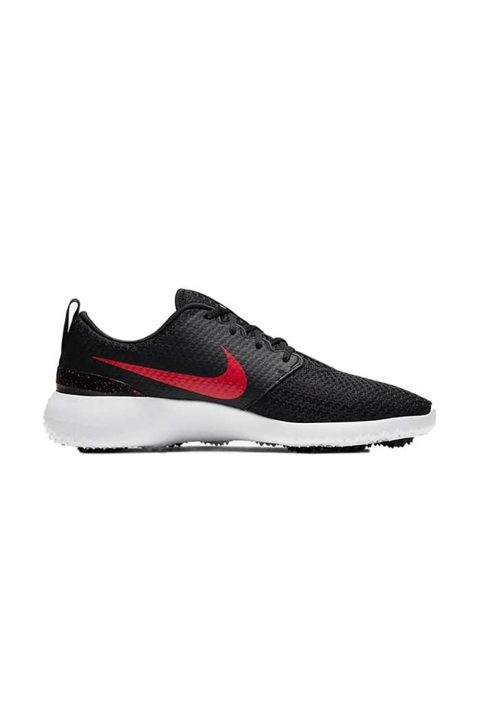 Picture of Nike Golf Roshe G Men's Golf Shoes - Black / University Red / White