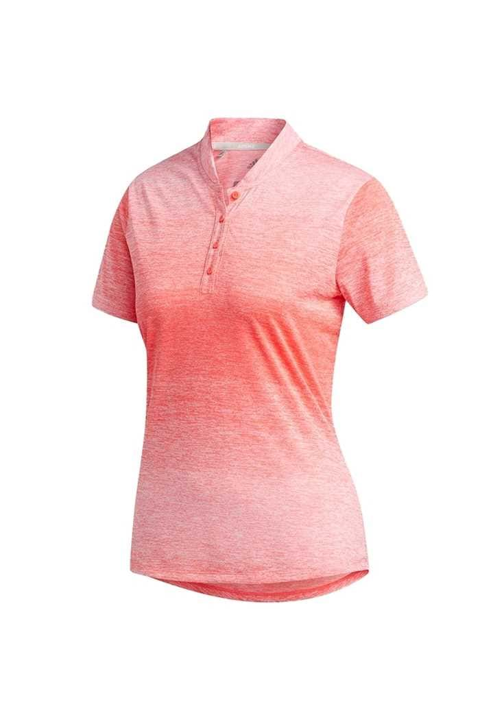 Picture of adidas Gradient Novelty Short Sleeve Polo Shirt - Flash Red