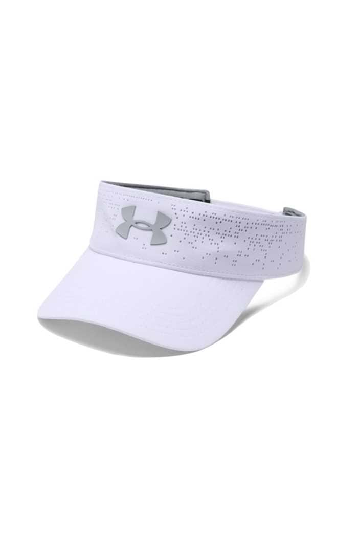 Picture of Under Armour Womens UA Elevated Golf Visor - White 100