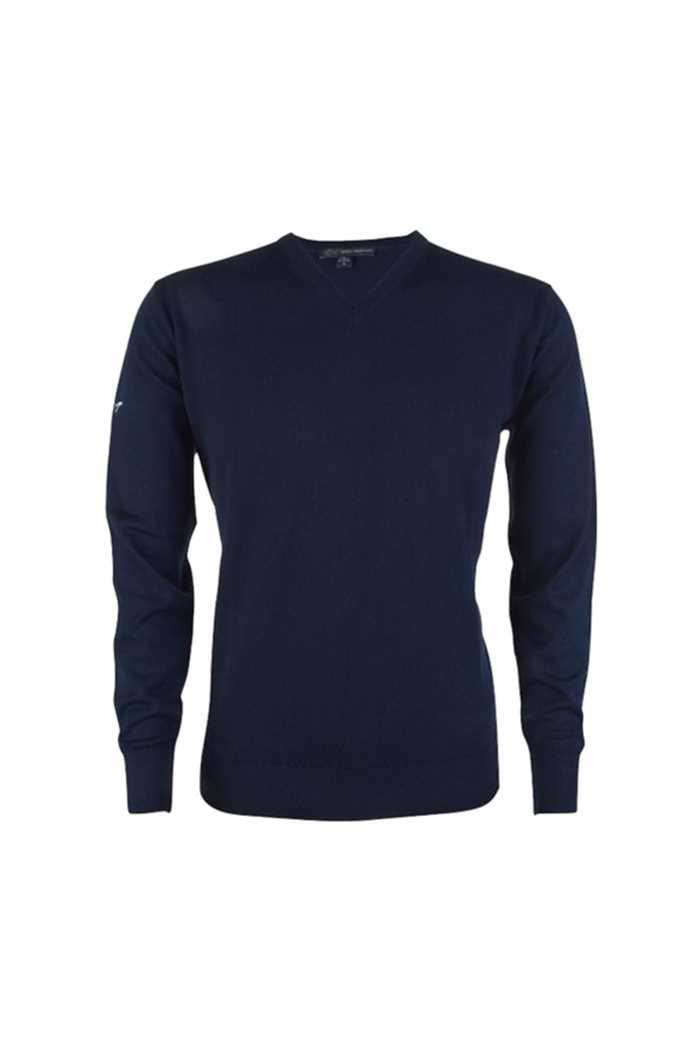 Picture of Greg Norman Men's Fine Merino V Neck Pullover - Navy