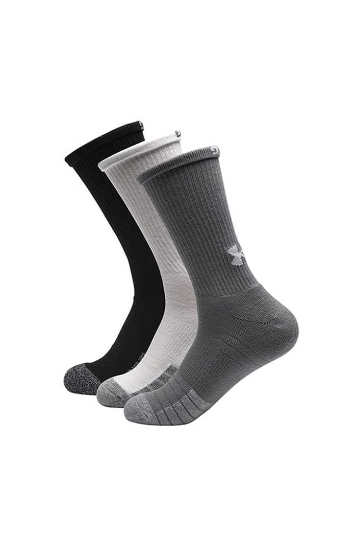 Picture of Under Armour UA Men's Heatgear Crew Socks - Grey