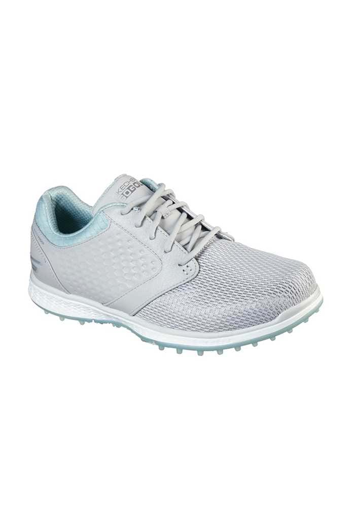 Picture of Skechers Women's Go Golf Elite 3 Grand Golf Shoes- Relaxed Fit - Grey / Mint