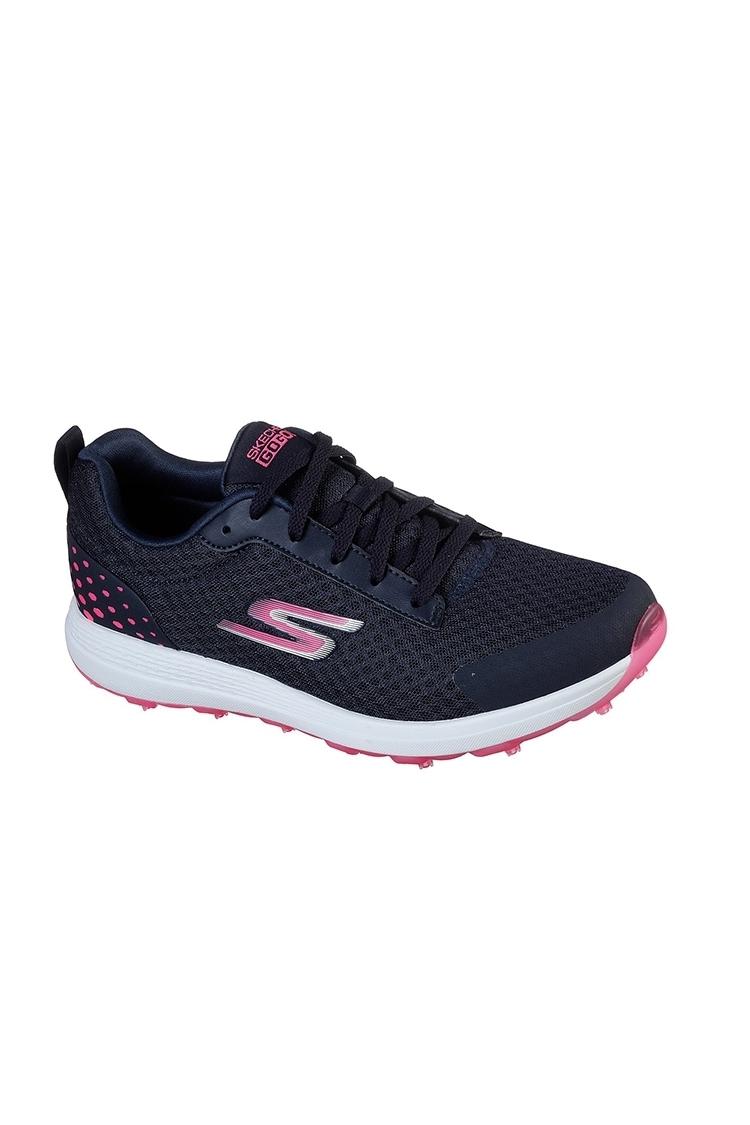 Picture of Skechers Women's Max Fairway 2 Golf Shoes - Navy / Pink