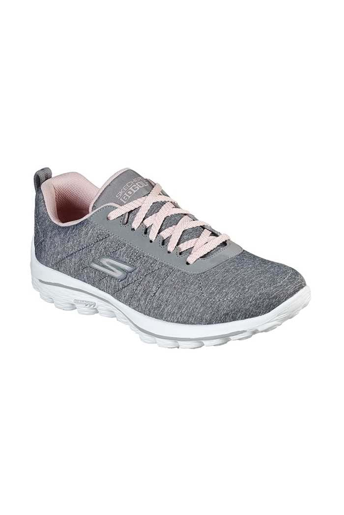Picture of Skechers Women's Go Walk Sport Golf Shoes - Grey / Pink