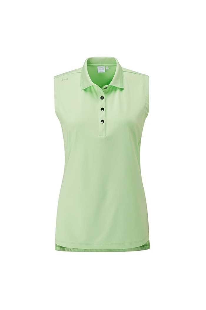 Picture of Ping Ladies Solene Sleeveless Polo Shirt - Mint
