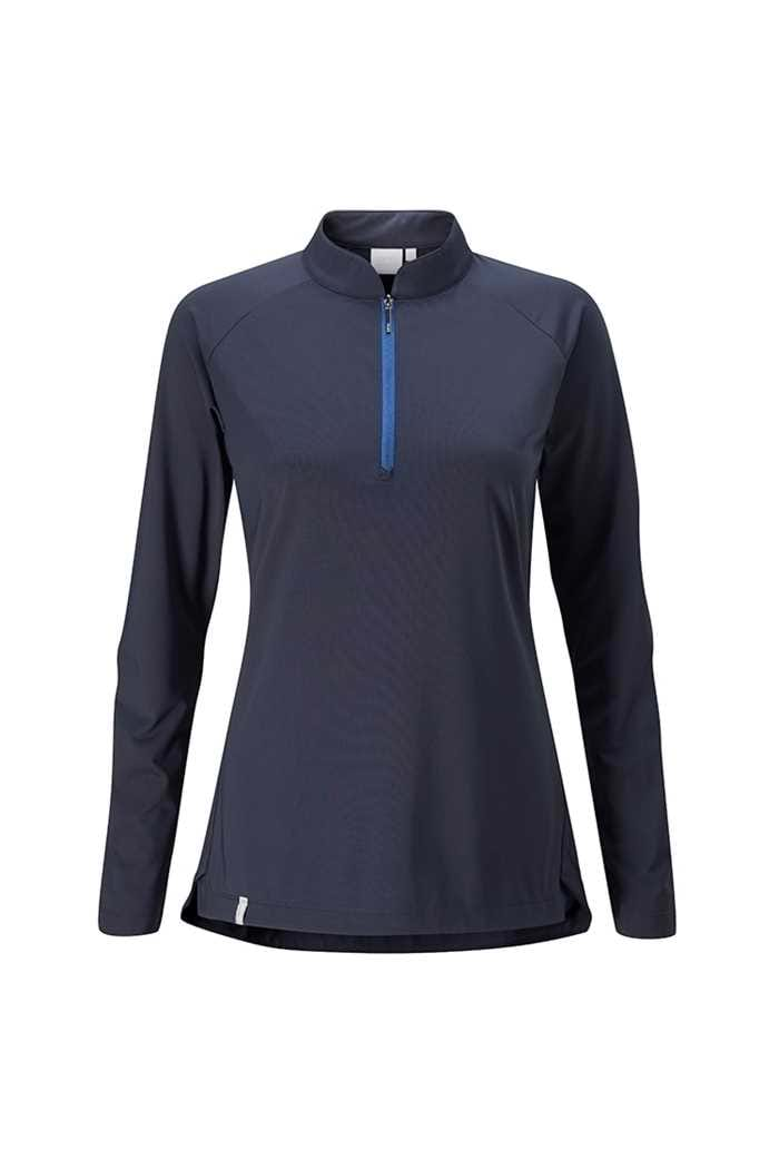 Picture of Ping Sundance Long Sleeve Golf Top - Navy