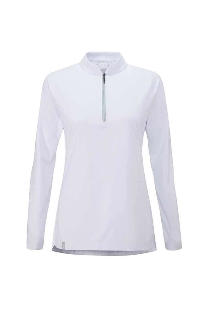 Picture of Ping Sundance Long Sleeve Golf Top - White