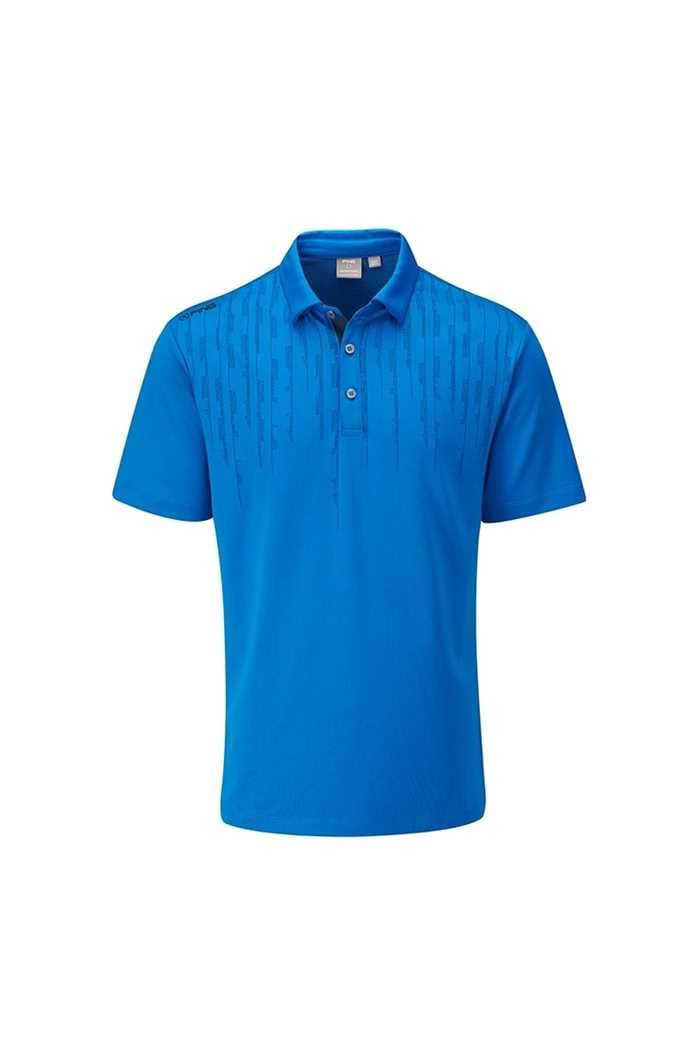 Picture of Ping Carbon Men's Golf Polo Shirt - Snorkel Blue