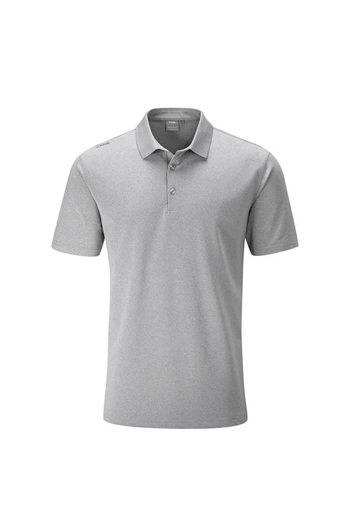 Picture of Ping Lincoln Men's Golf Polo Shirt - Silver Marl