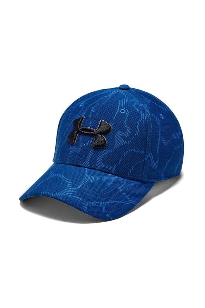 Picture of Under Armour UA Printed Blitzing 3.0 Stretch Fit Cap - Blue 486