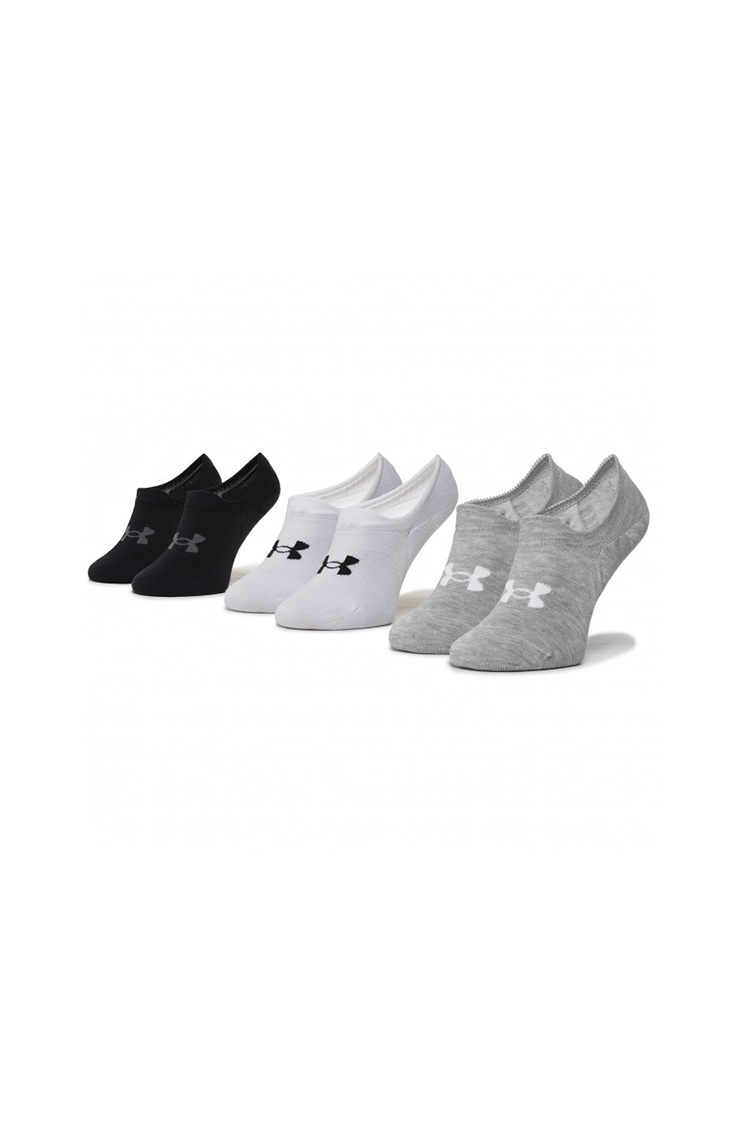 Picture of Under Armour Unisex Ultra Lo Socks - White / Black / Grey