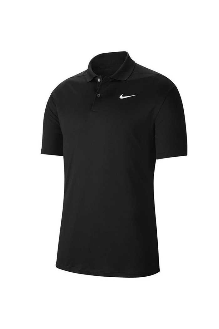 Picture of Nike Golf Dri-FIT Victory Polo Shirt - Black / White