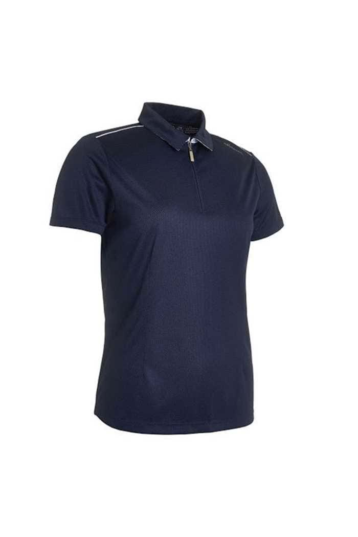 Picture of Abacus Ladies Vilna 1/2 Zip Polo Shirt - Navy
