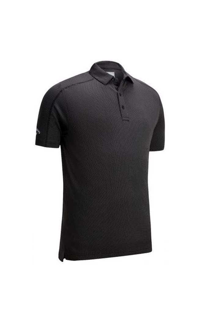 Picture of Callaway Box Jaquard Polo Shirt - Caviar