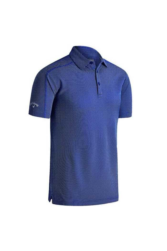 Picture of Callaway Box Jaquard Polo Shirt - Surf the Web