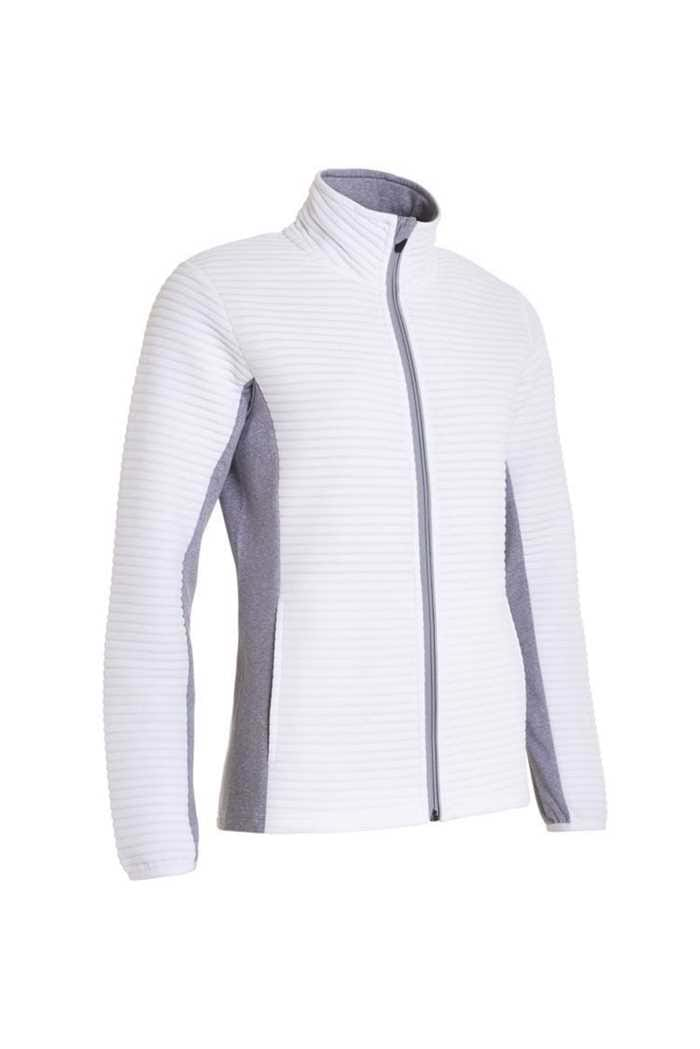 Picture of Abacus Ladies Buddock Full Zip Jacket - White 100