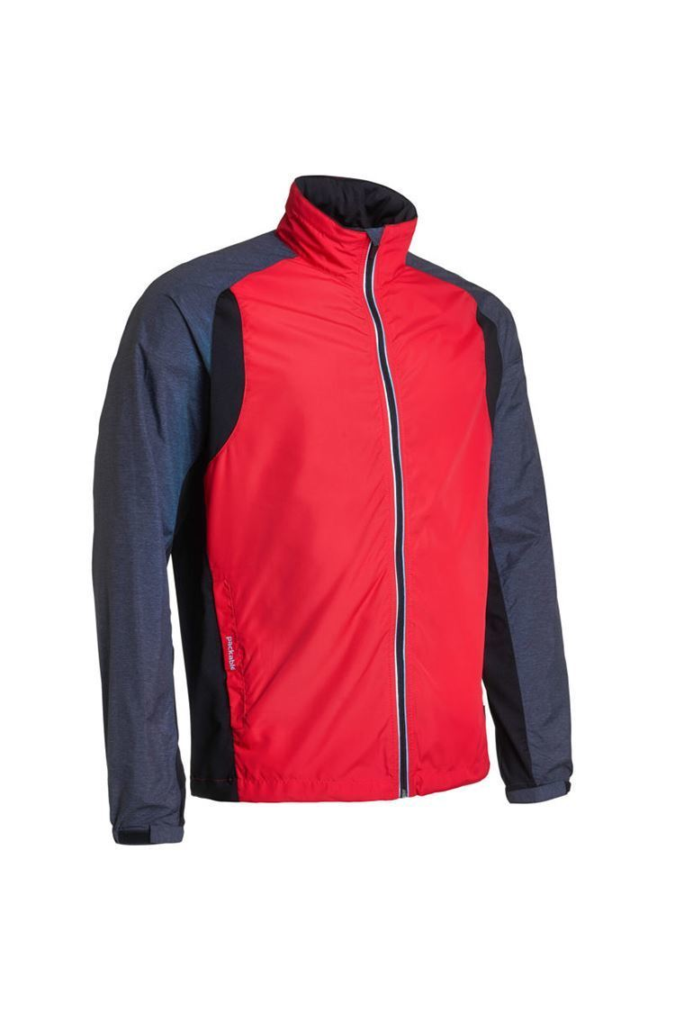Picture of Abacus Men's Formby Stretch Windshirt - Black Combo